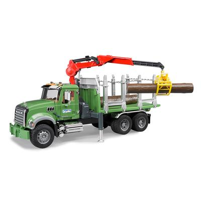 Mack Granite Timber Truck Loading Crane