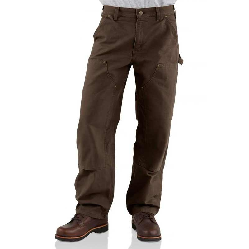 Men's Double Knee Work Duck Dungaree