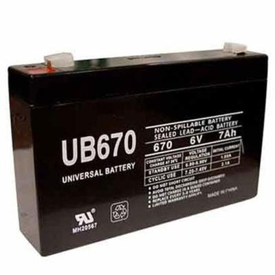 6 Volt 7 Amp Battery