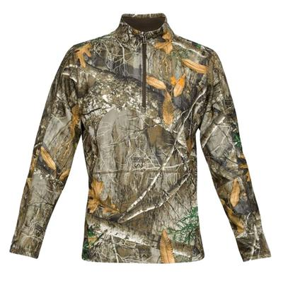 Mens OffGrid Zephyr Fleece Camo ¼ Zip