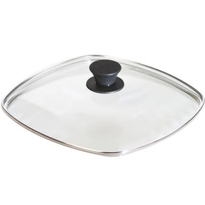 10.5 Inch Square Glass Lid