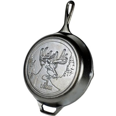 8 Inch Cast Iron Skillet with Duck Logo