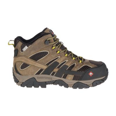 Men's Moab 2 Vent Mid Waterproof Comp Toe Work Boot