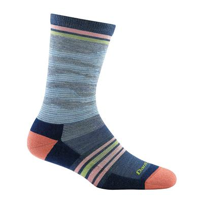 Womens Waves Crew Light Cushion Sock