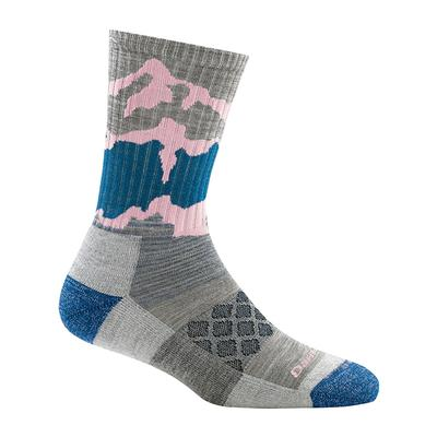 Womens Three Peaks Micro Crew Light Cushion Socks