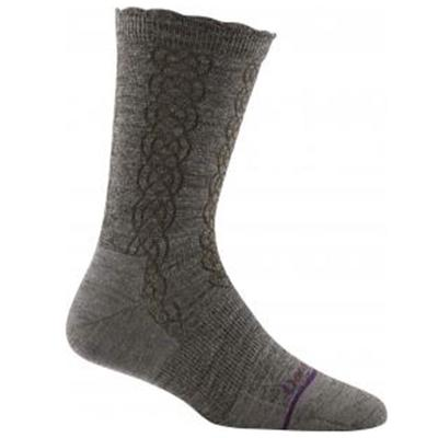 Womens Cable Basic Crew Light Socks