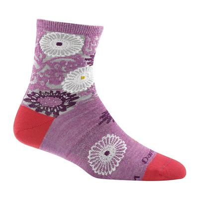 Womens Floral Shorty Light Sock