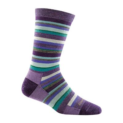 Womens Sassy Stripe Crew Light Sock