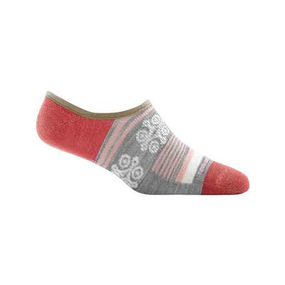 Womens Stripe Topless No Show Hidden Light Sock