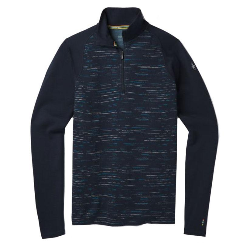 Mens Merino 250 Base Layer Pattern 1/4 Zip Top
