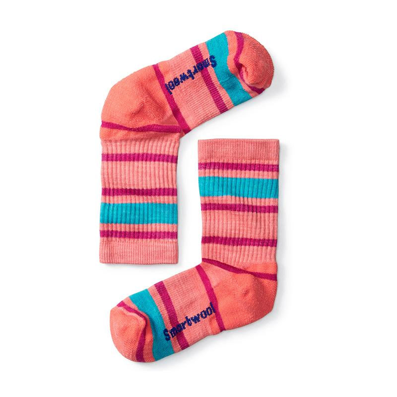 Kids ' Striped Hike Light Crew Socks
