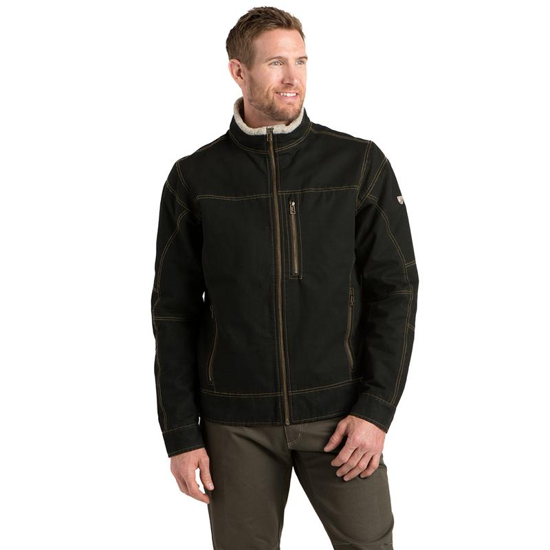 Men's Burr Lined Jacket