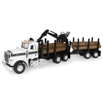 1/16 Big Farm Peterbilt Model 367 Log Truck