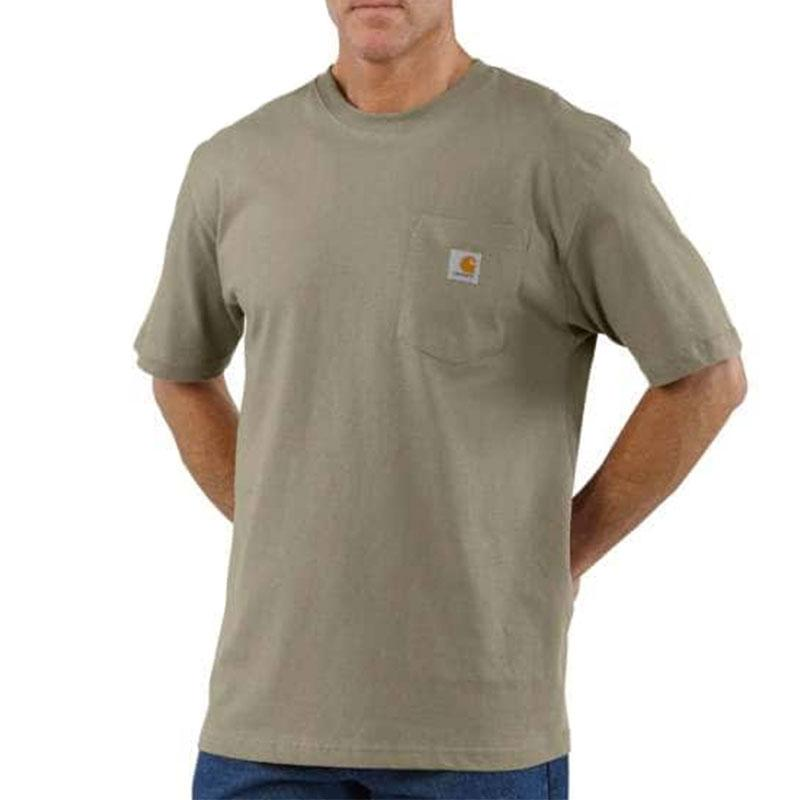 Mens Workwear Pocket T- Shirt