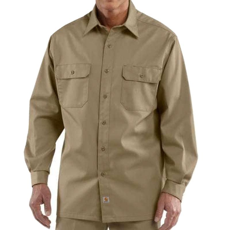 Mens Twill Long- Sleeve Work Shirts