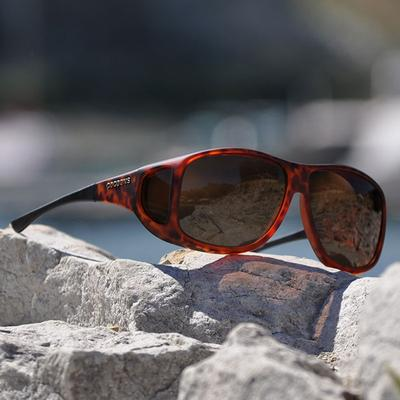 XL Amber Lens Fit Over Sunglasses