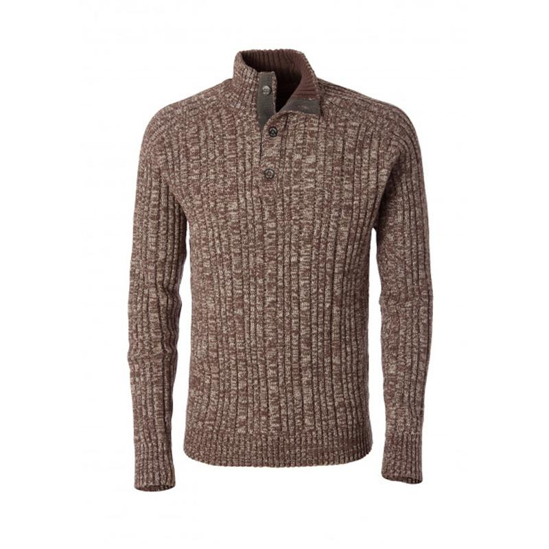 Men's Oban Button Mock Sweater