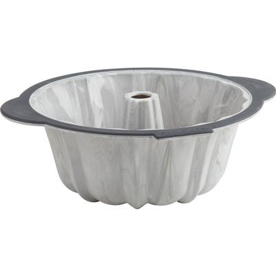 Pro Fluted Pan with Marble Effect