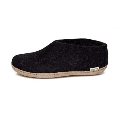 Unisex Leather Shoe Slipper