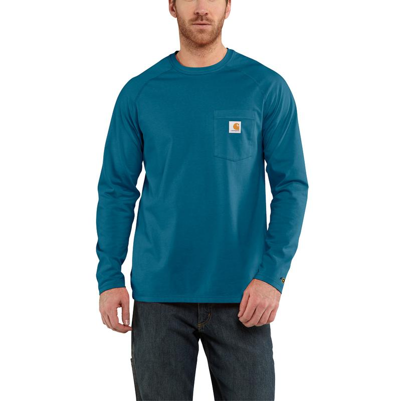 Men's Carhartt Force ® Cotton Delmont Long- Sleeve T- Shirt