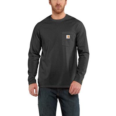 Men's Carhartt Force® Cotton Delmont Long-Sleeve T-Shirt