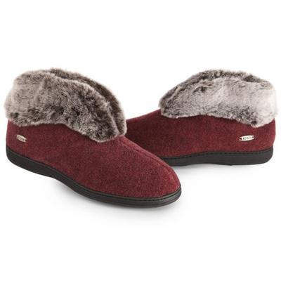 Women's Faux Fur Chinchilla Bootie II Slippers