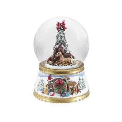 The Gift of Love - Musical Snow Globe