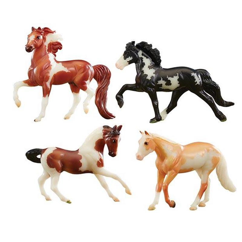 Stablemates Glow In The Dark 4- Horse Set