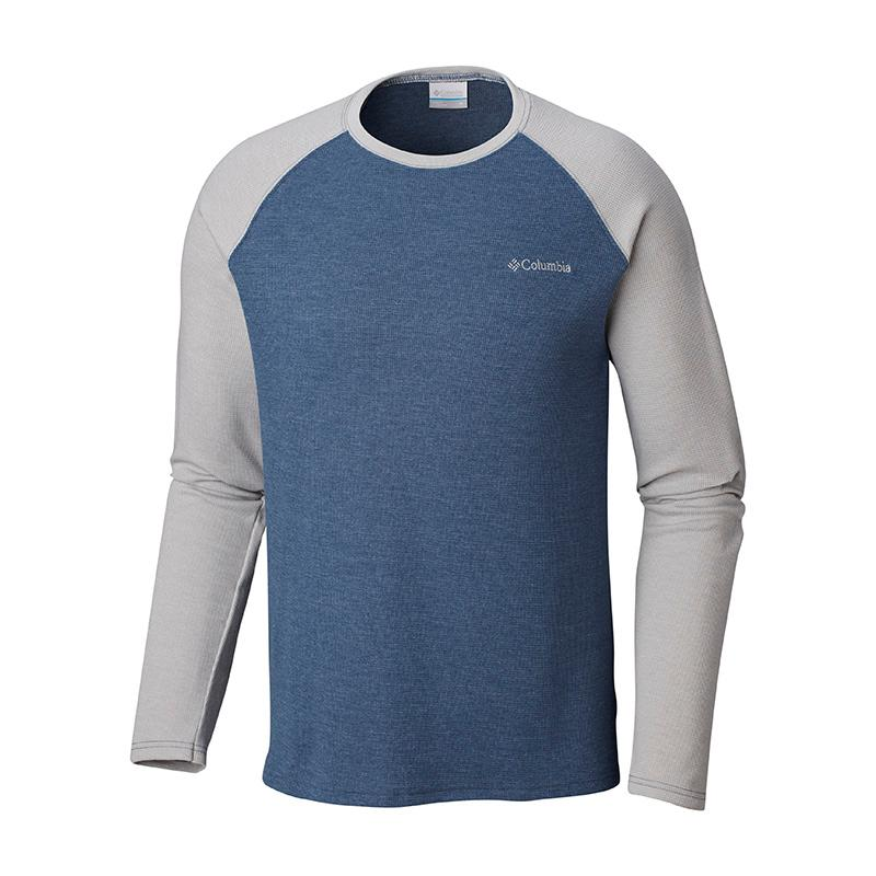 Men's Ketring Raglan Waffle Long Sleeve Shirt