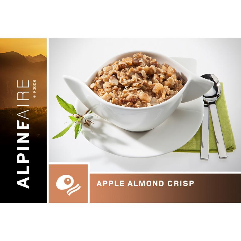 Apple Almond Crisp Breakfast