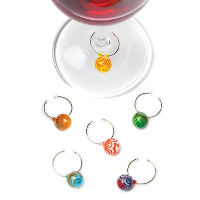 Swirl™: Glass Wine Charms