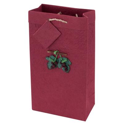 2-Bottle Crush Wine Bag