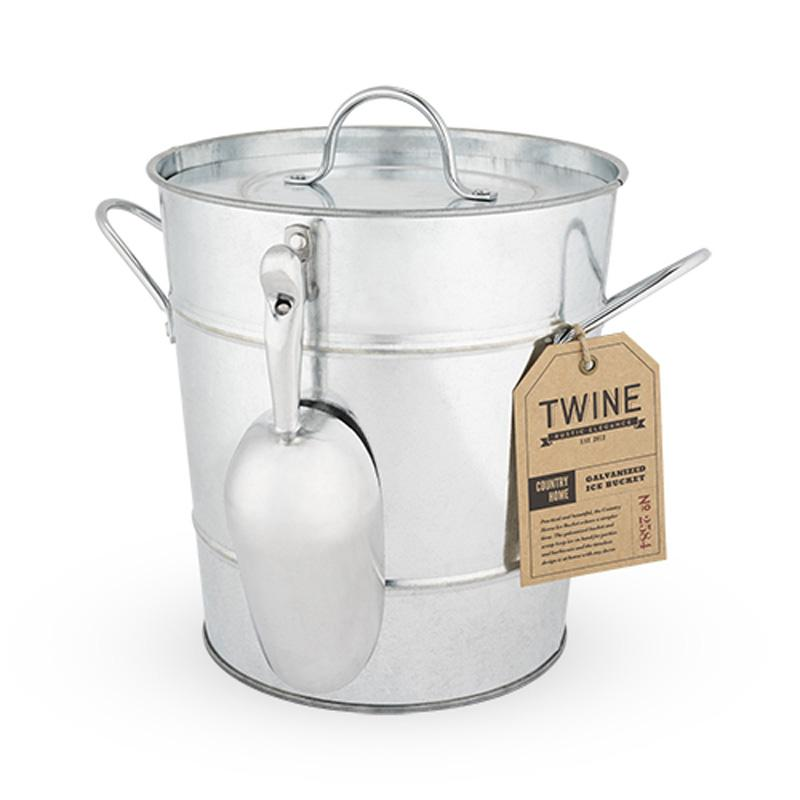 Country Home : Galvanized Ice Bucket