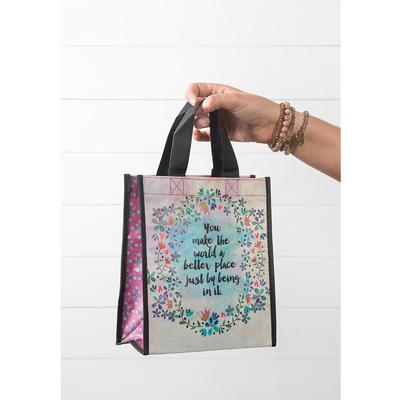 You Make World Better Medium Recycled Bag