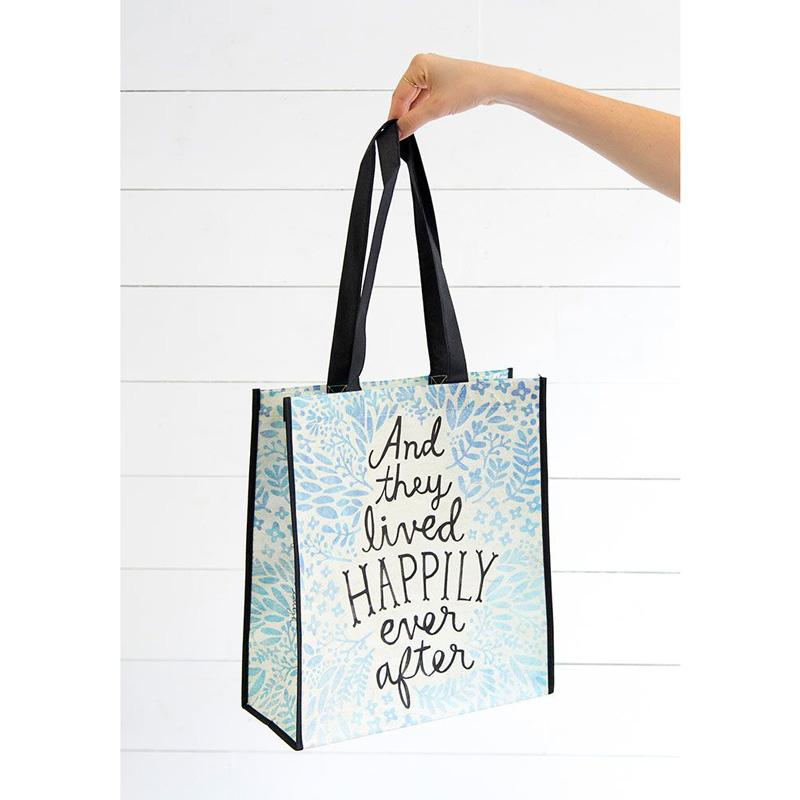 Happily Ever After Large Recycled Bag