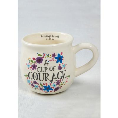 Cup of Courage Happy Mugs