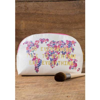 Go Everywhere Vegan Cosmetic Bag
