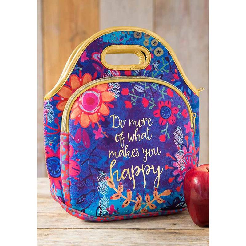 Do More Of What Makes You Happy Neoprene Lunch Bags