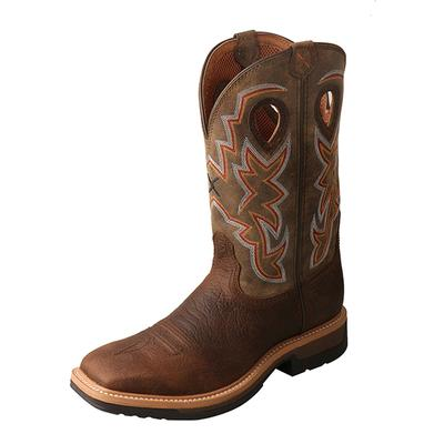 Men's Lite Cowboy Workboot - Alloy Toe