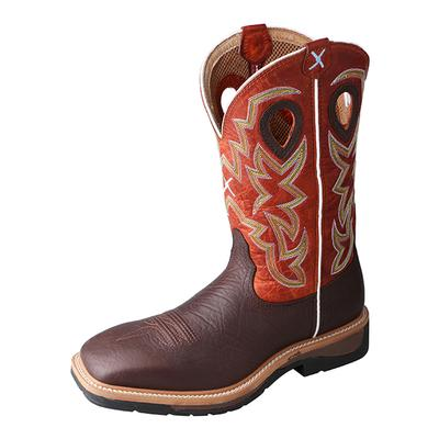 Men's Lite Cowboy Workboot - Steel Toe