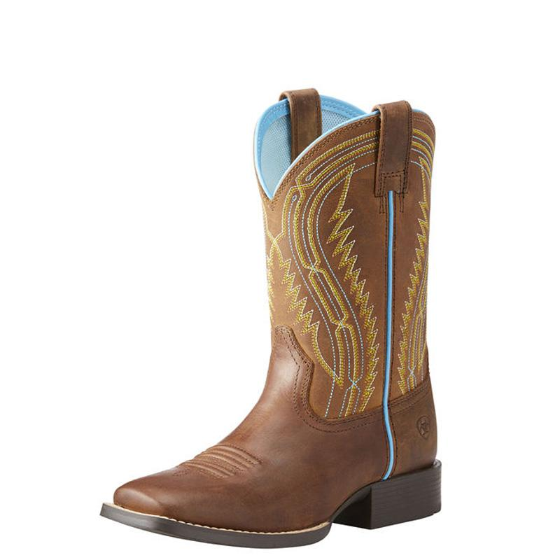 Kids ' Chute Boss Western Boot