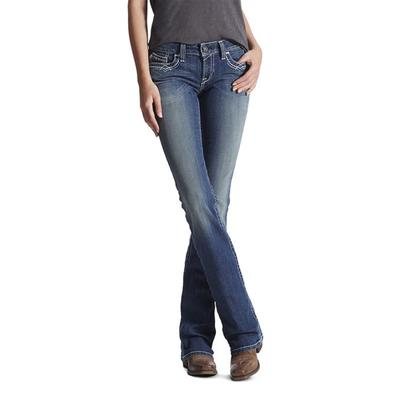 Women's R.E.A.L Mid Rise Entwined Boot Cut Jean