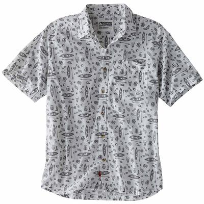 Mens Adventurist Signature Print Shirt