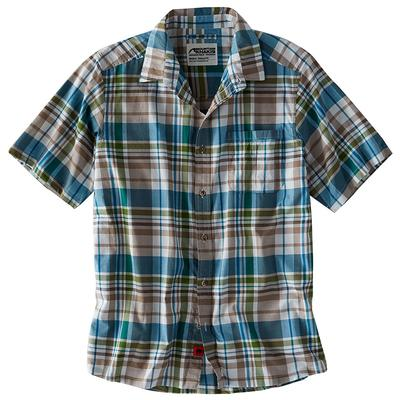 Men's Tomahawk Madras Short Sleeve Shirt