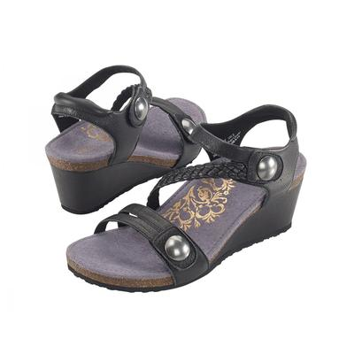Women's Naya Braided Quarter Strap Wedge Sandal
