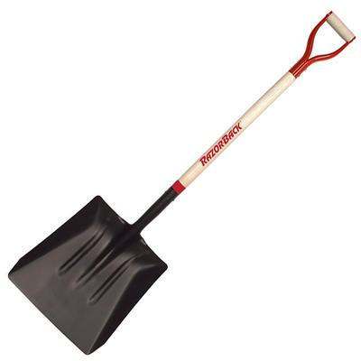 D Handled Street + Snow Shovel