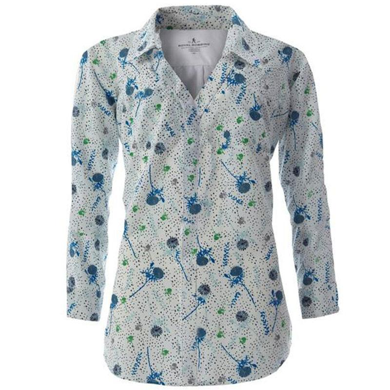 Women's Expedition Dry Print 3/4 Sleeve