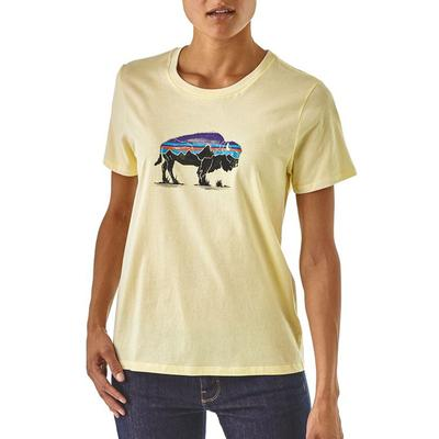Women's Fitz Roy Bison Organic Cotton Crew T-Shirt