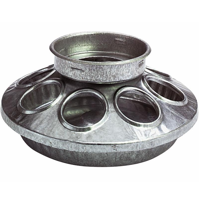 1 Quart Jar Metal Feeder Base
