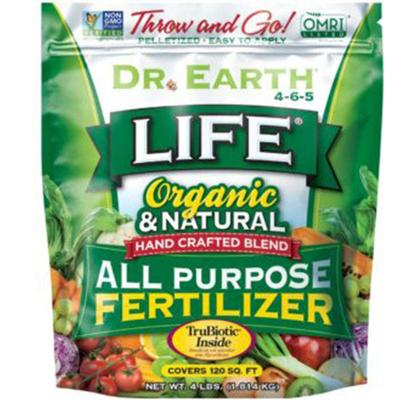 Organic and Natural Life® All Purpose Fertilizer - 4lb